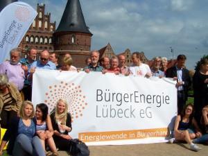Fotoaktion am Holstentor Lübeck
