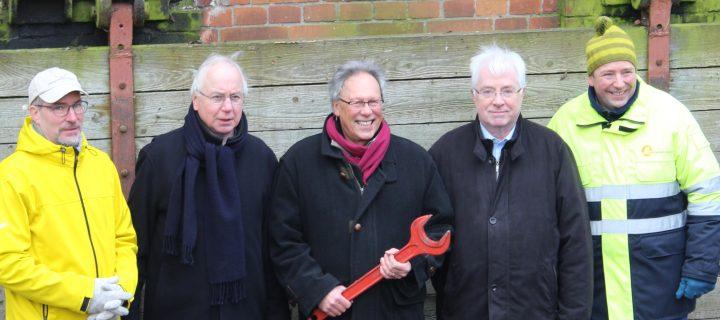 BürgerEnergie Lübeck ist neuer Eigentümer der Wasserkraftanlage am Mühlendamm